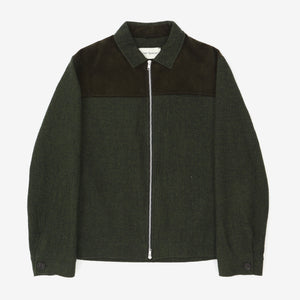 Full Zip Wool Jacket