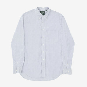 Graph Print Button Down Shirt