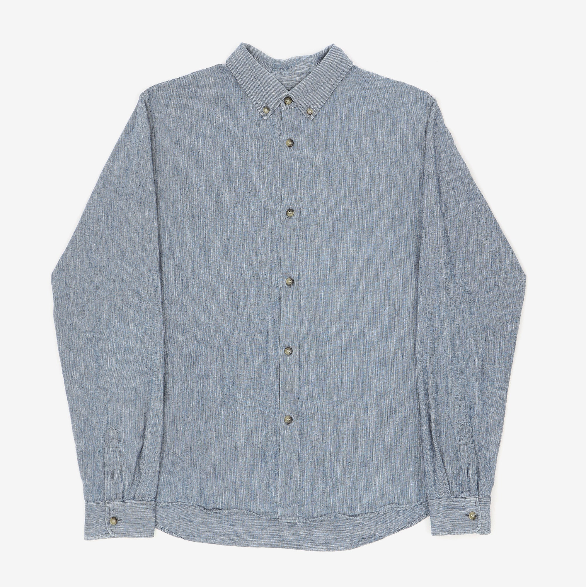 Striped Cotton Linen Shirt