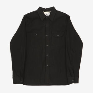 Selvedge Canvas Work Shirt