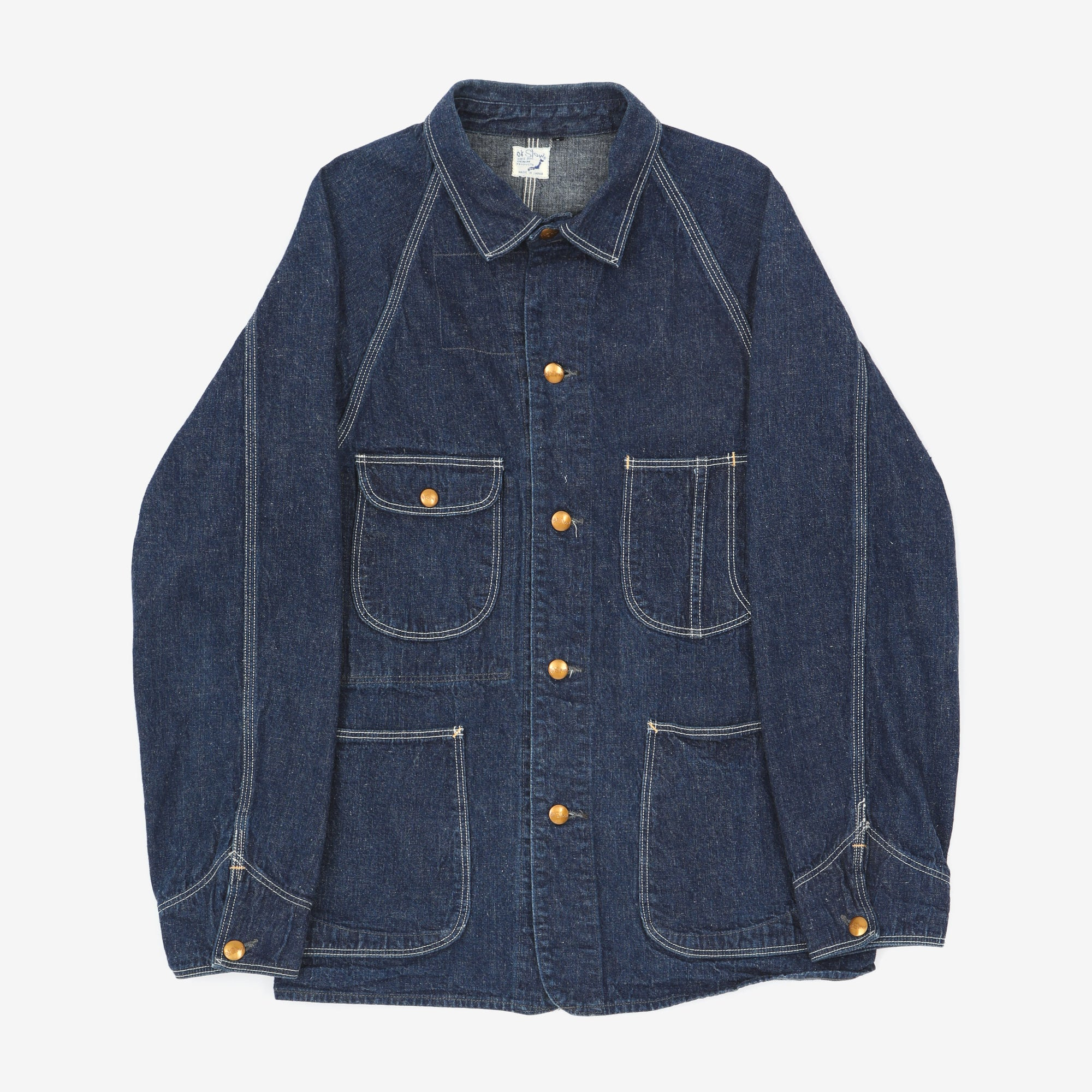 1950's Denim Coverall Jacket