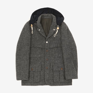 Harris Tweed Sherpa 1930s Jacket
