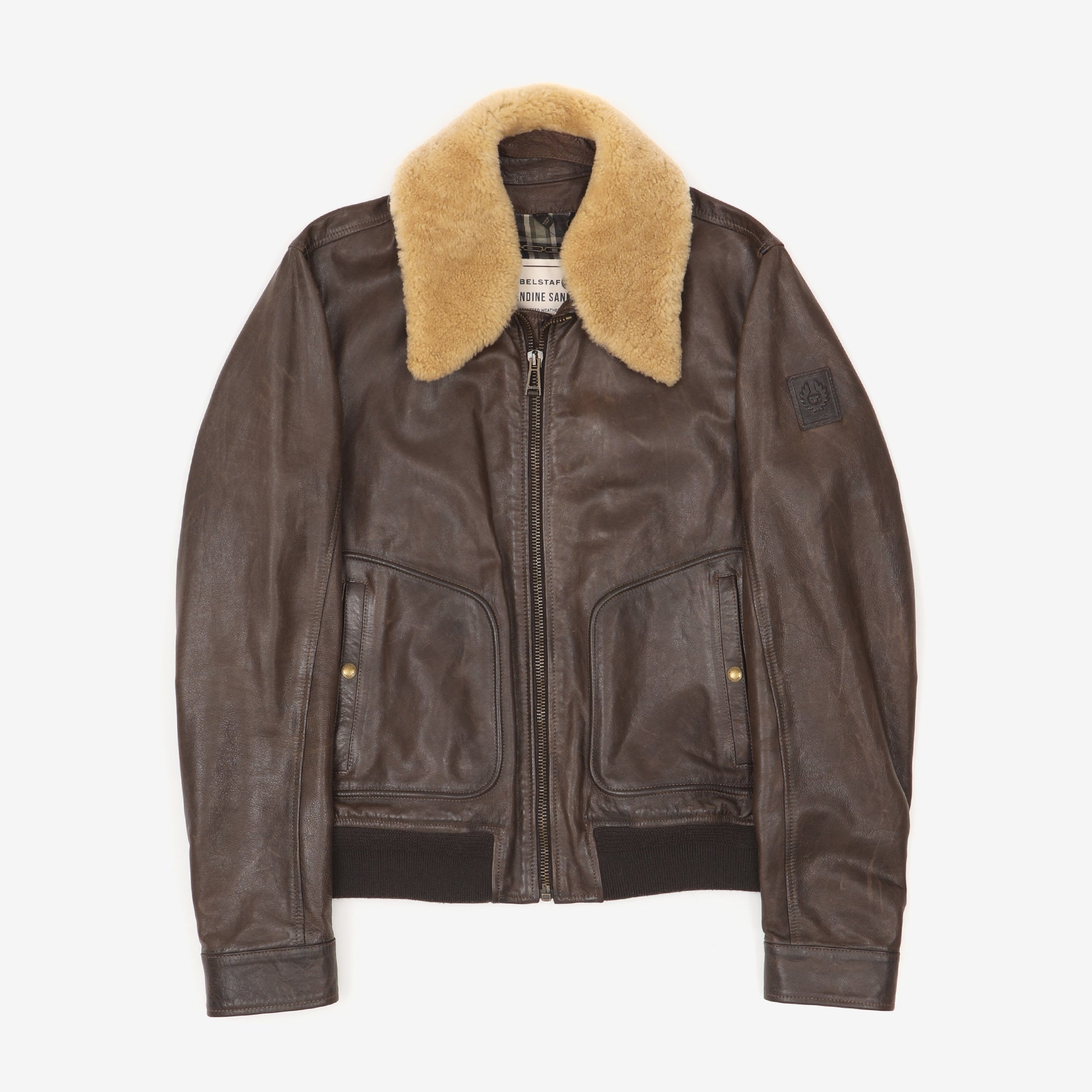 Pendine Sands Leather Jacket