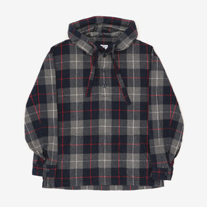 Toast Checked Hooded Pullover