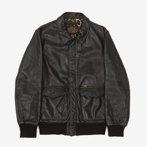 Schott NYC x Supreme Type A-2 Leather Jacket