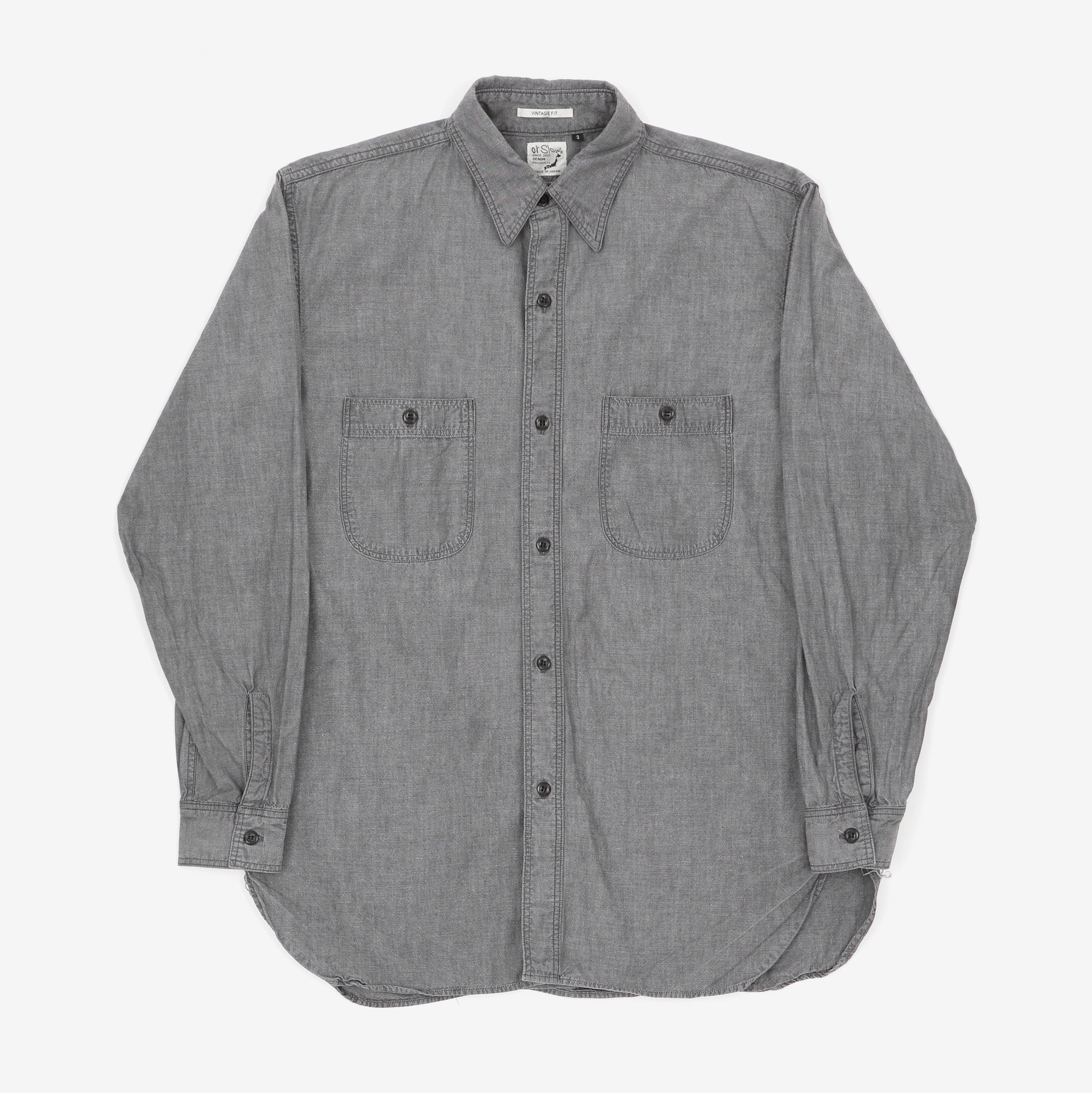 Vintage Fit Chambray Work Shirt