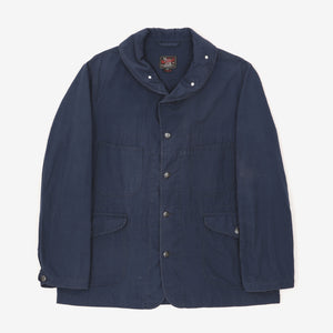 Cotton Ripstop Round Collar Work Jacket