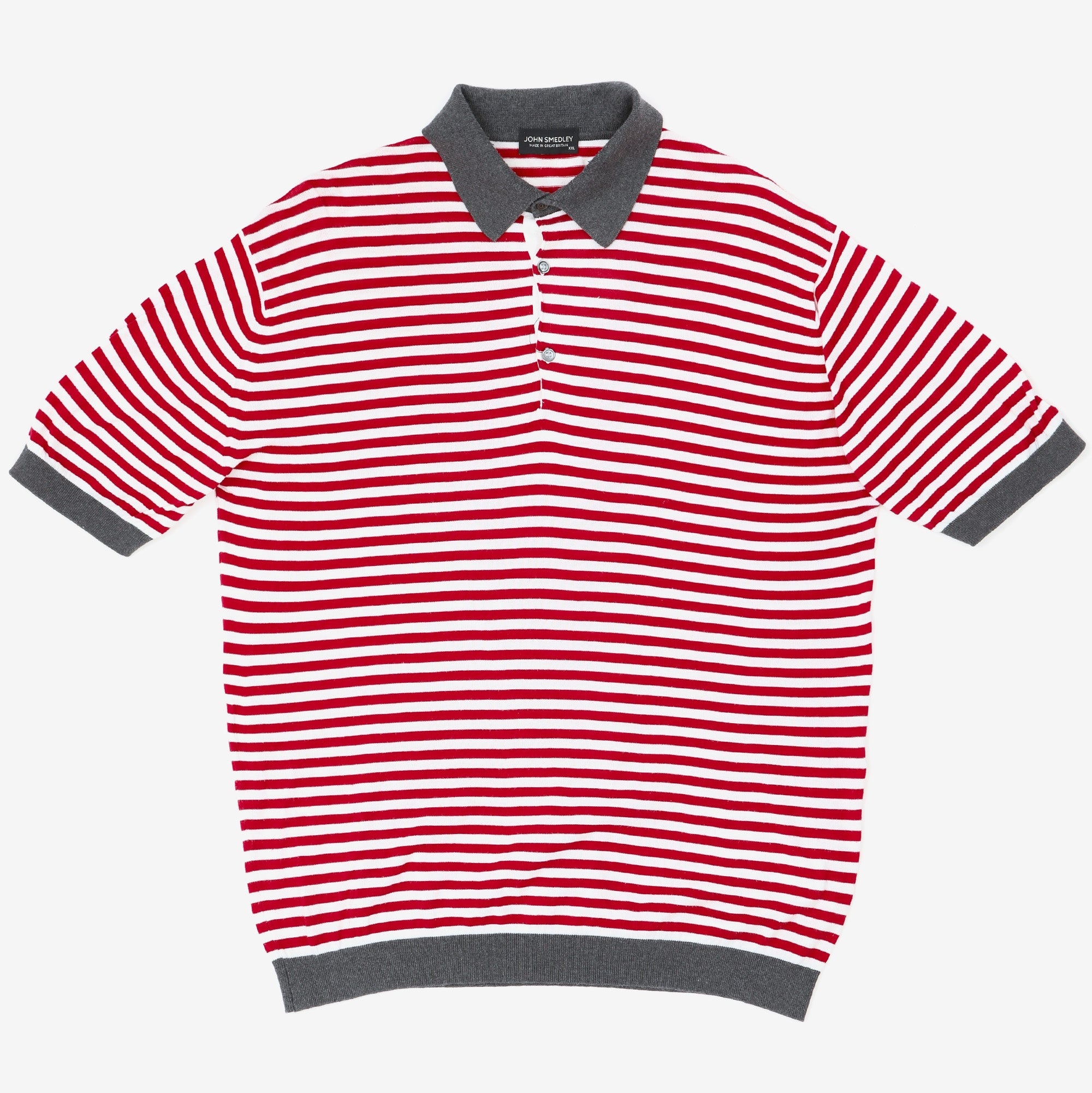 Striped SS Polo Shirt