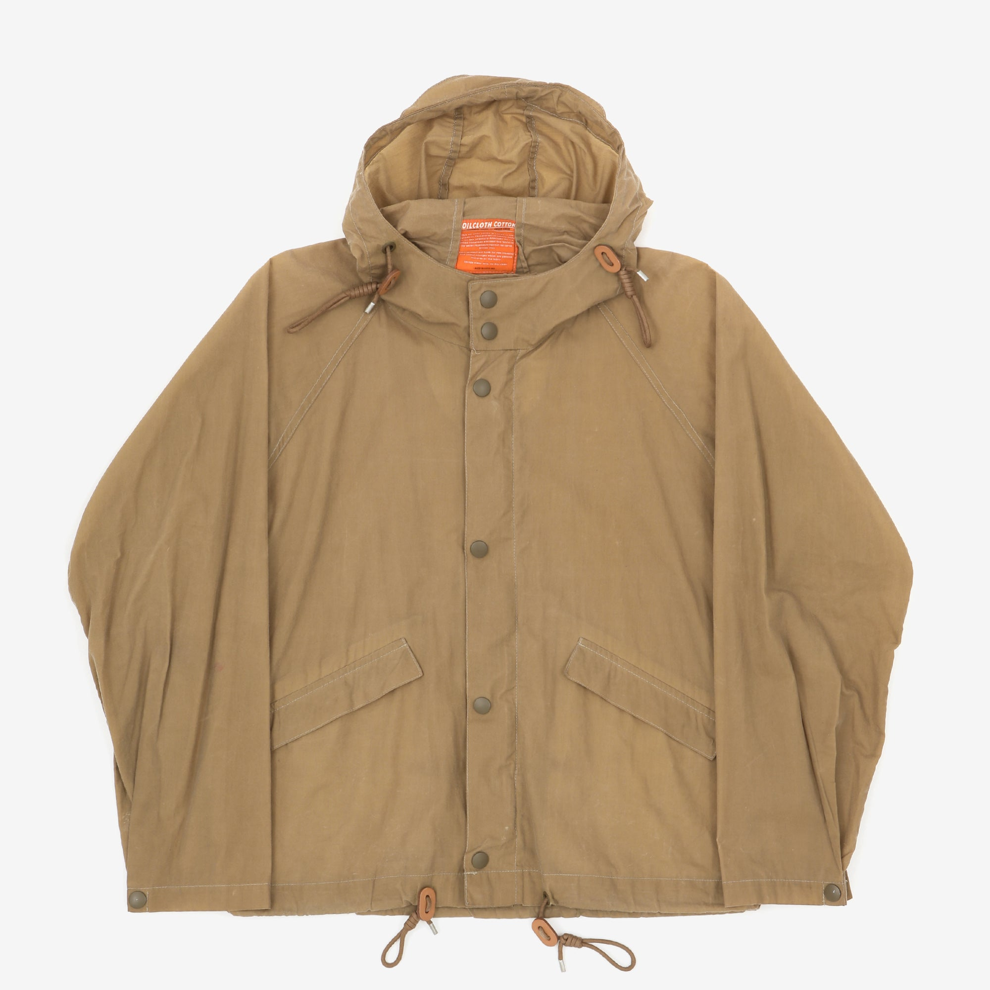 Oil Cloth Cotton Jacket