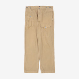HBT Lybro Army Pleated Chinos