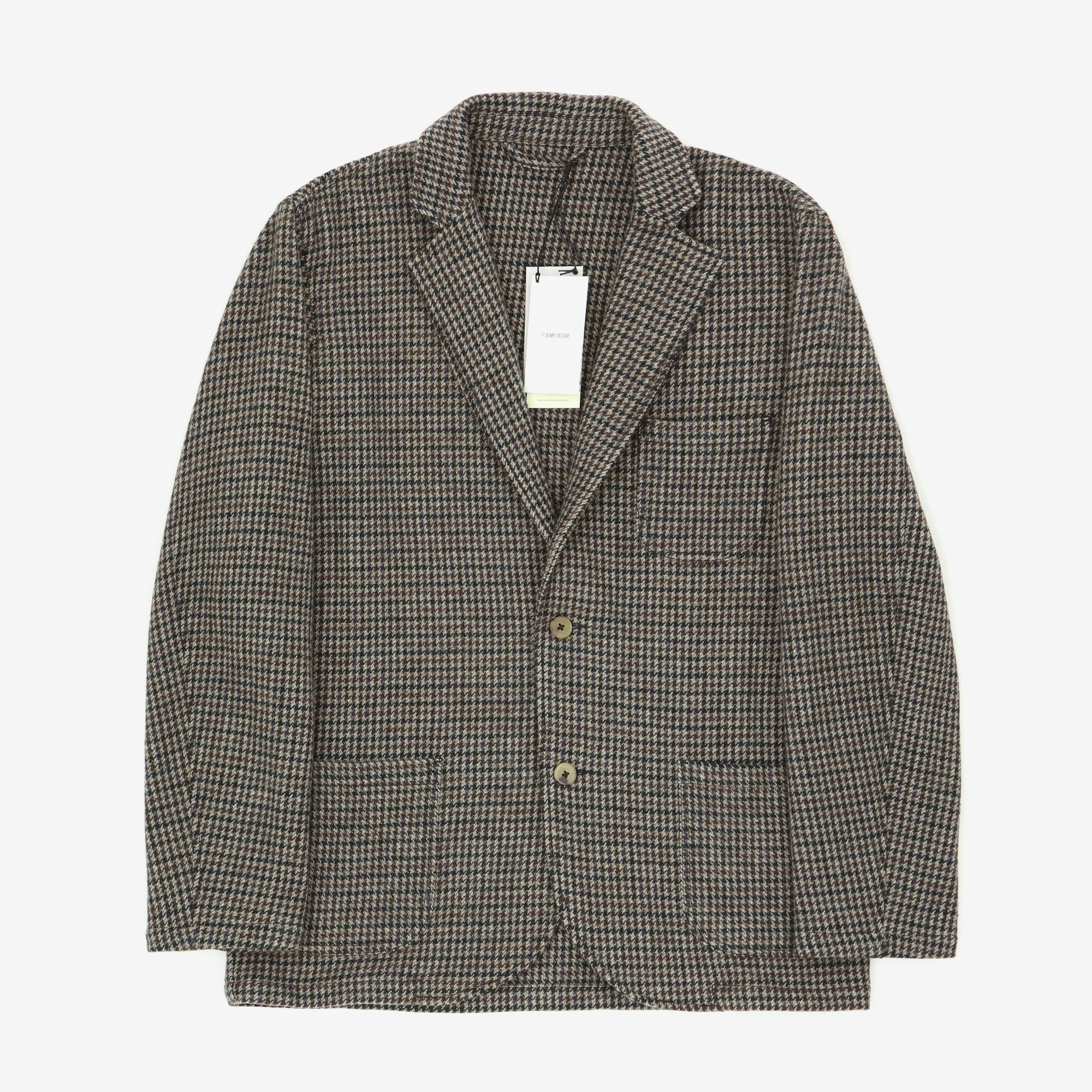 Houndstooth Wool Jacket