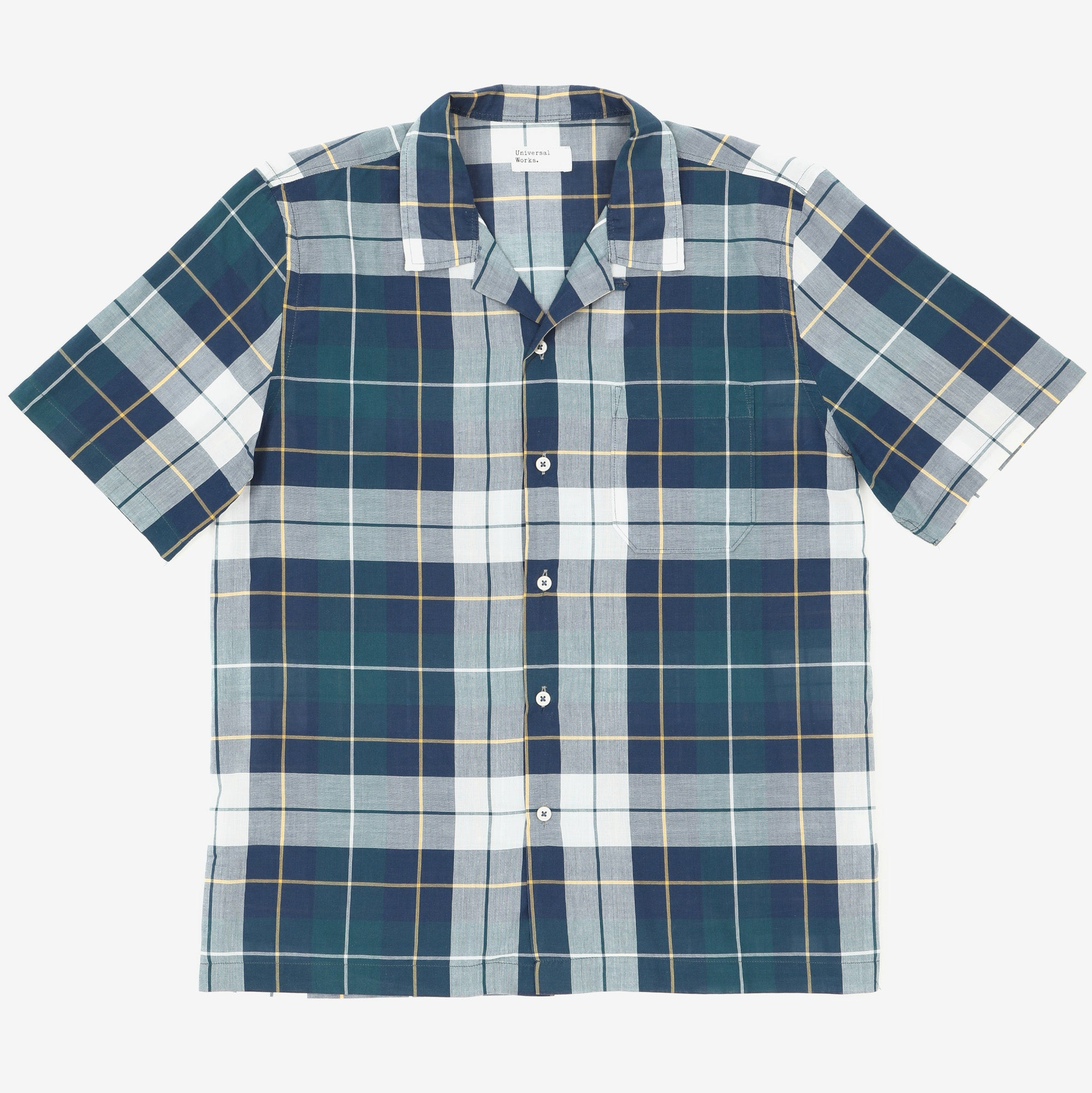 SS Check Camp Shirt