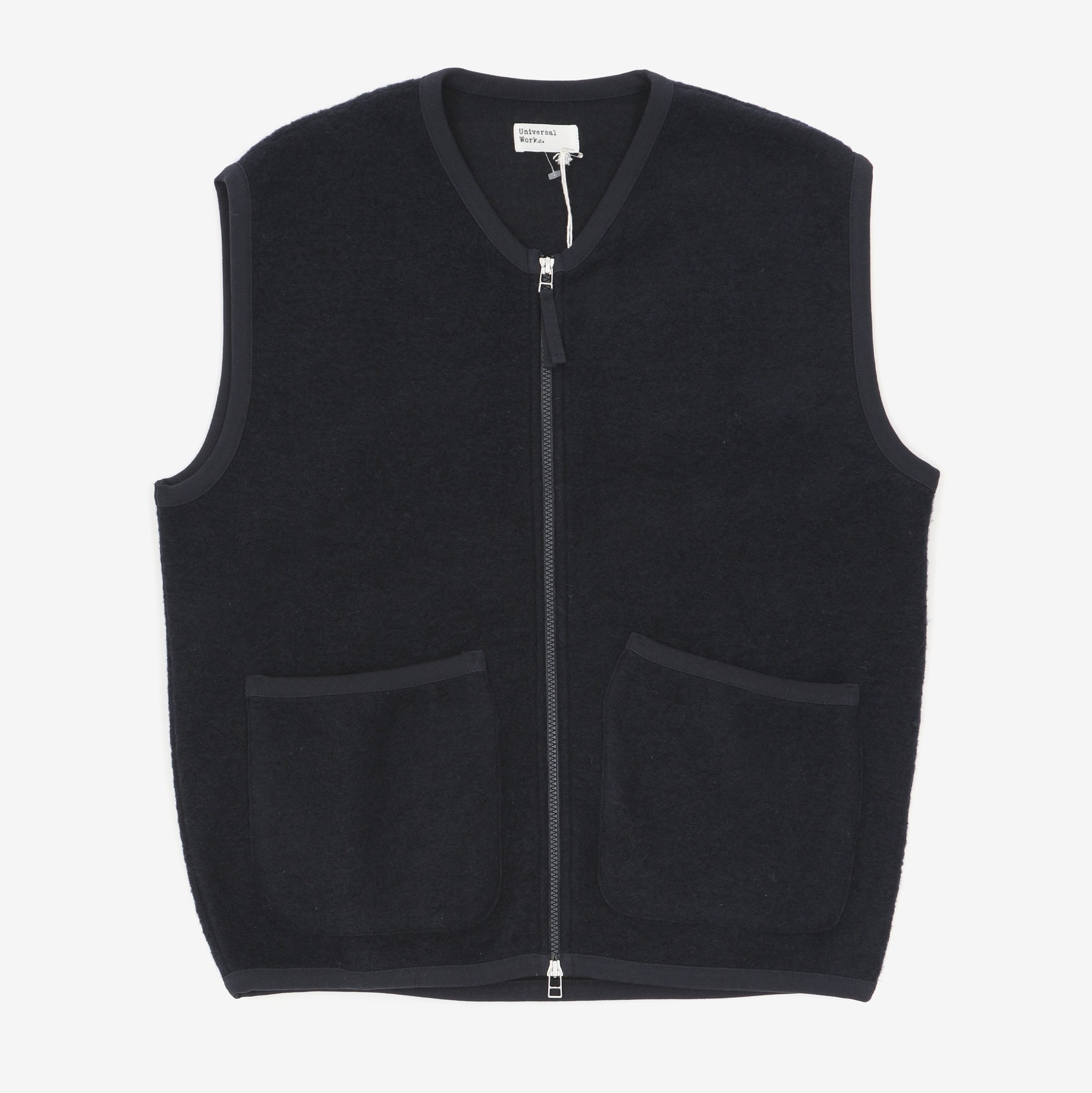 Zip Fleece Gilet