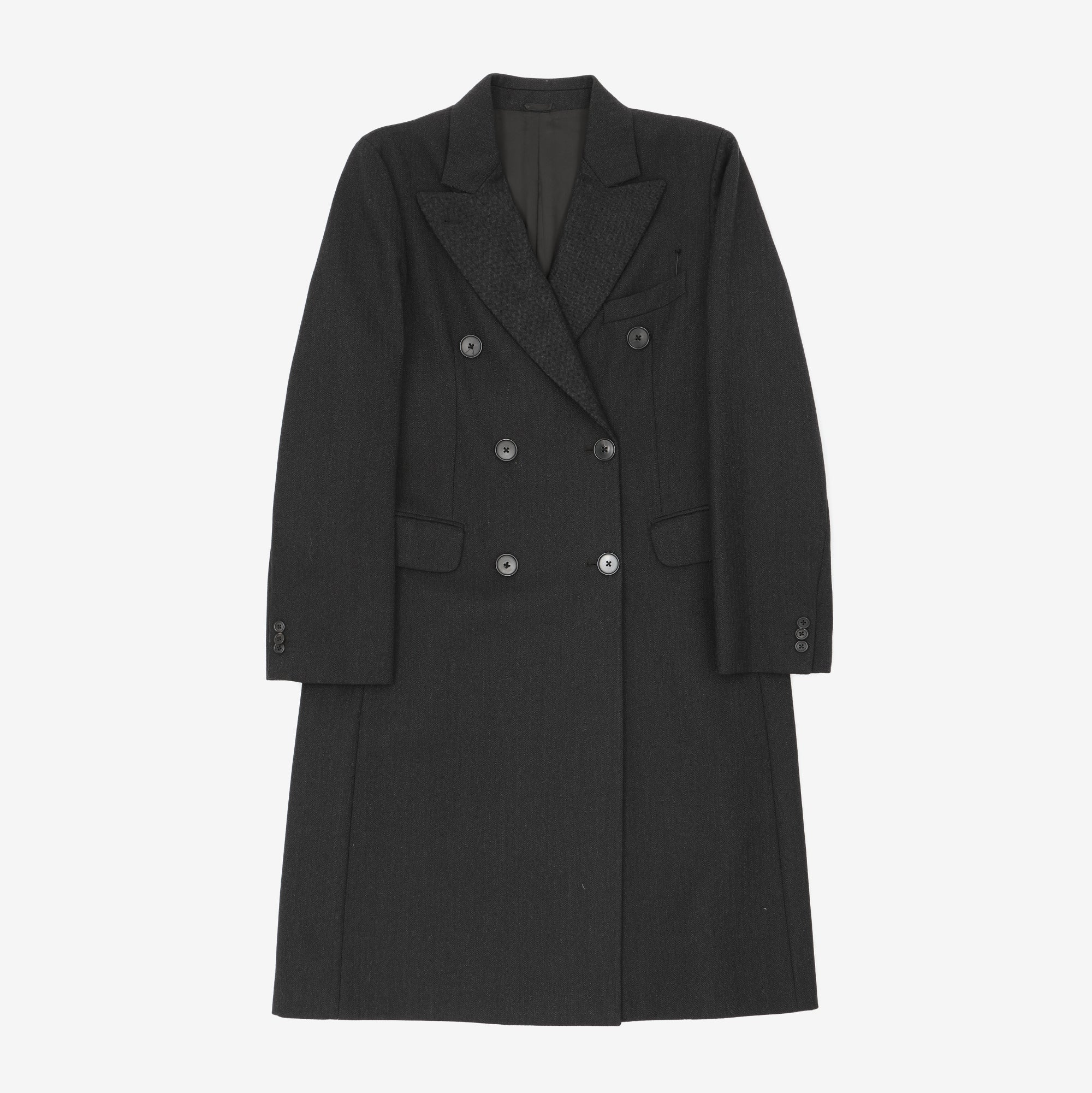 Women's Double Breasted Overcoat