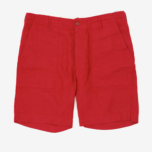 Linen Fatigue Shorts