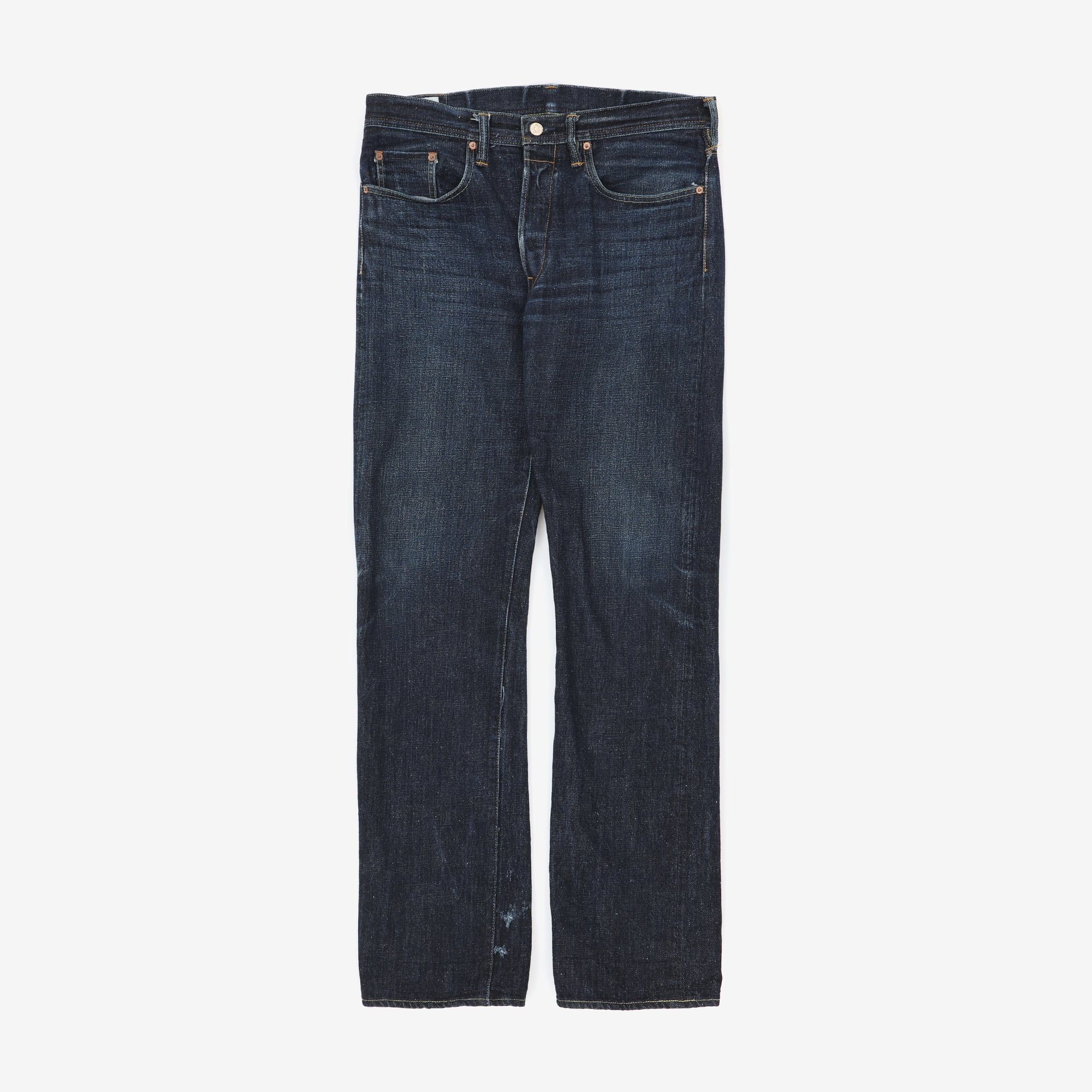Slim Straight Selvedge Denim
