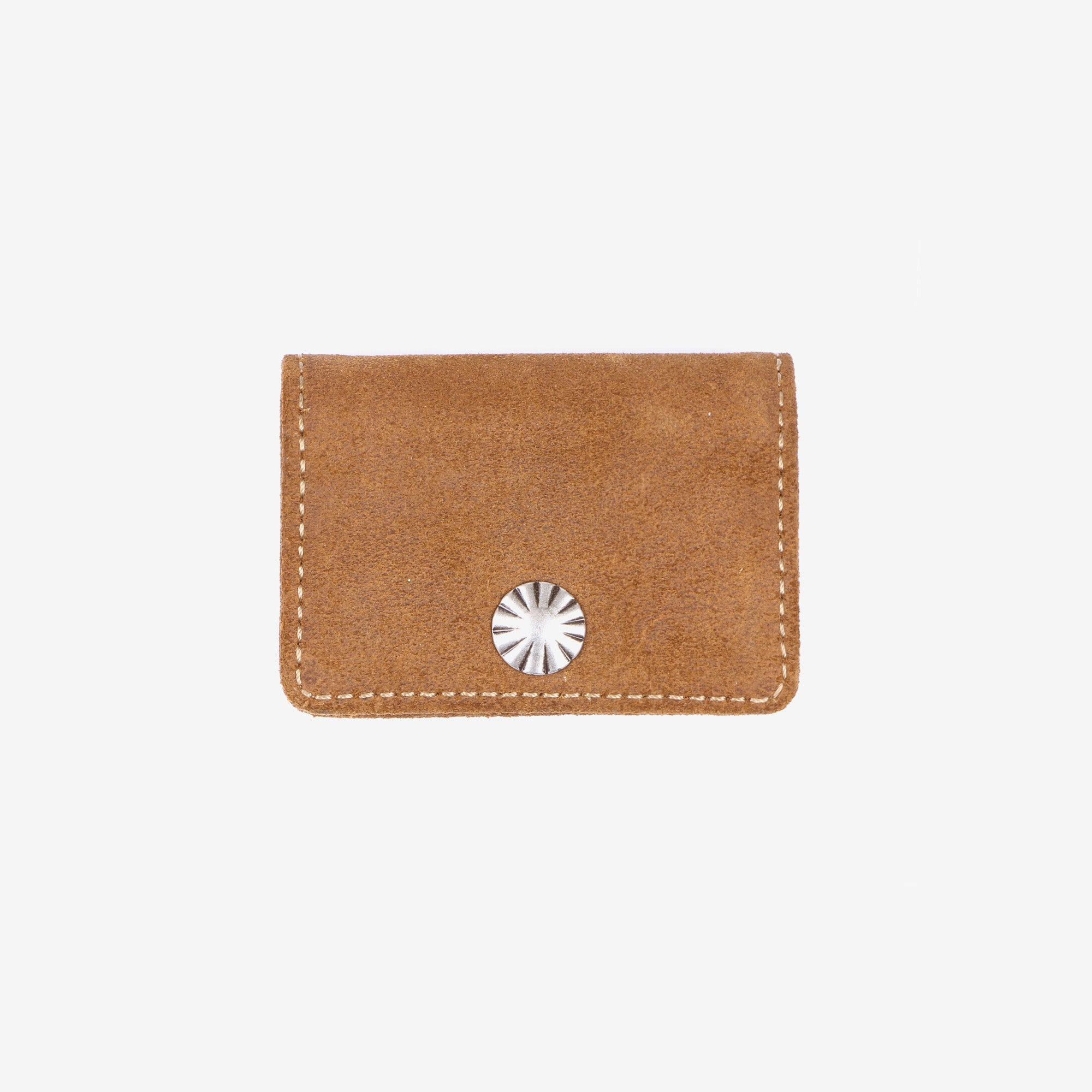 Roughout Suede Coin Wallet