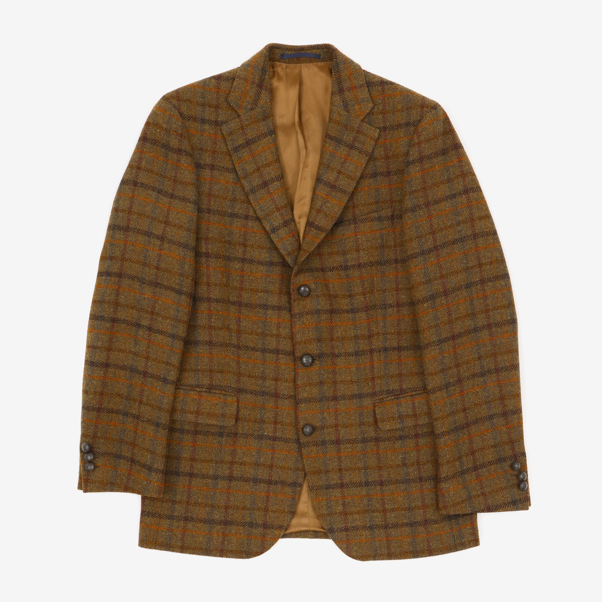 Check Harris Tweed Blazer