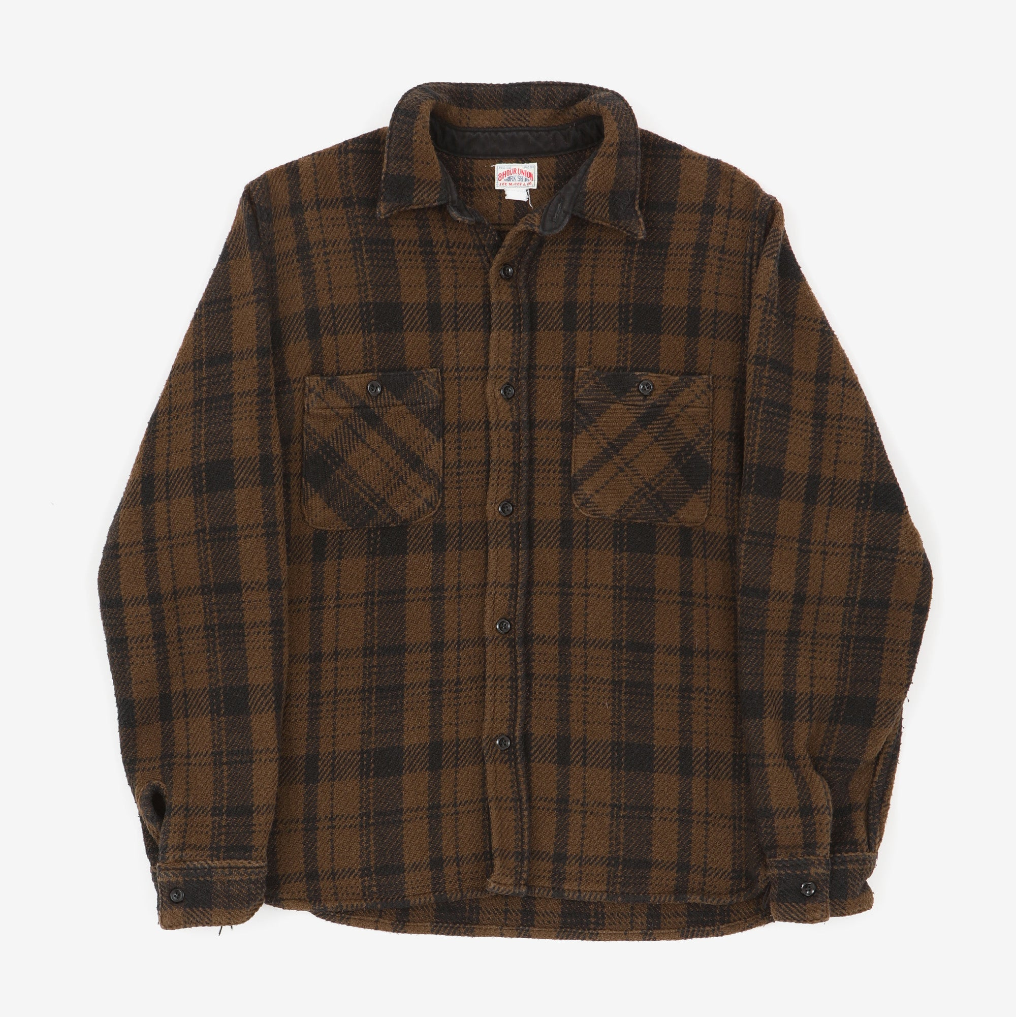 Heavyweight 8HU Check Shirt