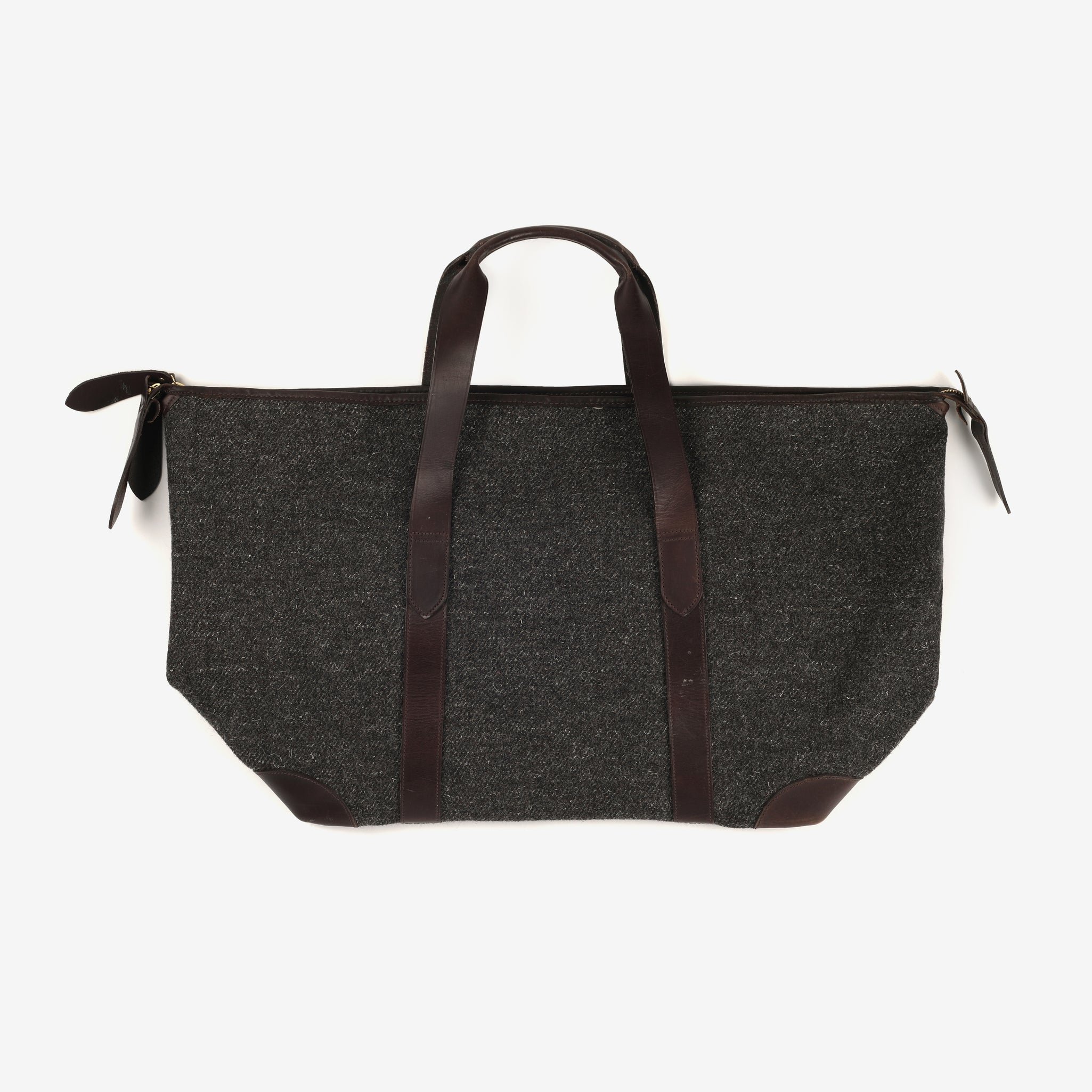 Large Tweed Overnight Bag