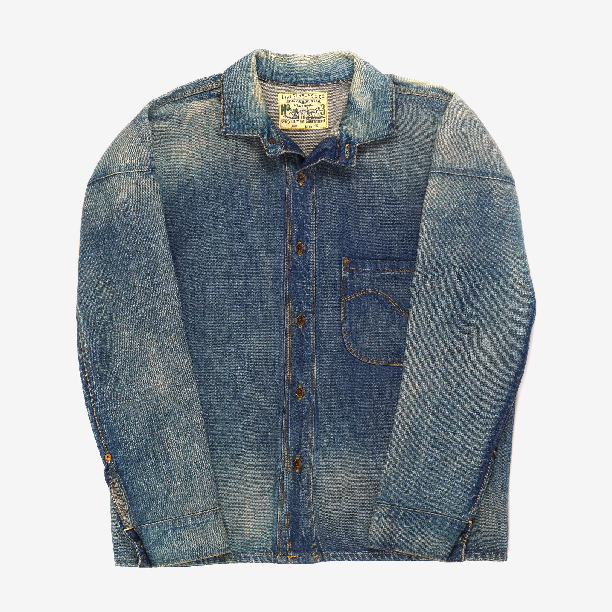Lot 340 Oversized Denim Shirt