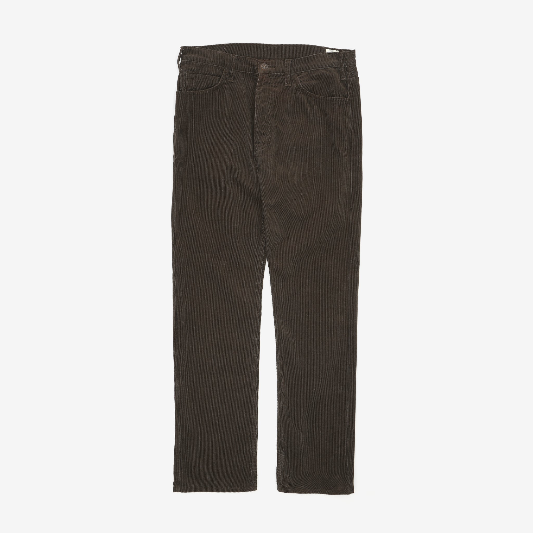5 Pocket Slim Fit Corduroy Trousers