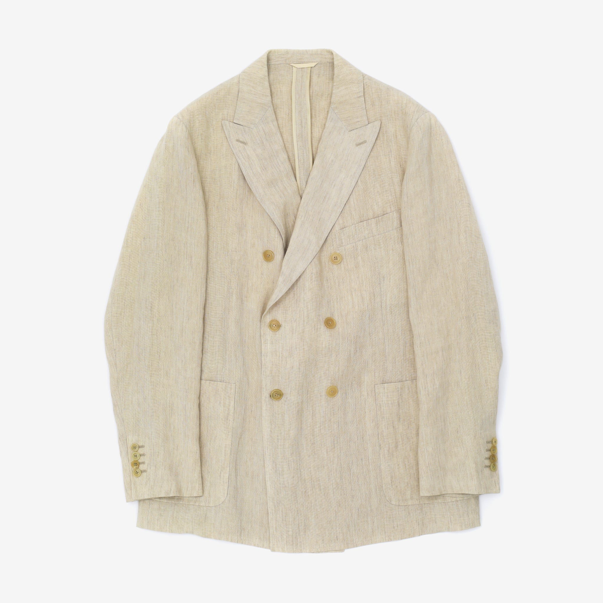 Linen Double Breast Blazer