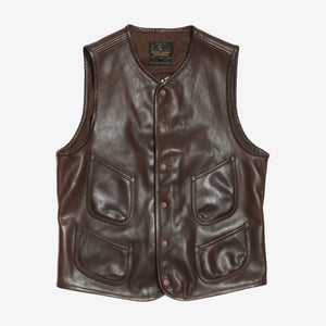 High Large Leathers Horsehide Vest