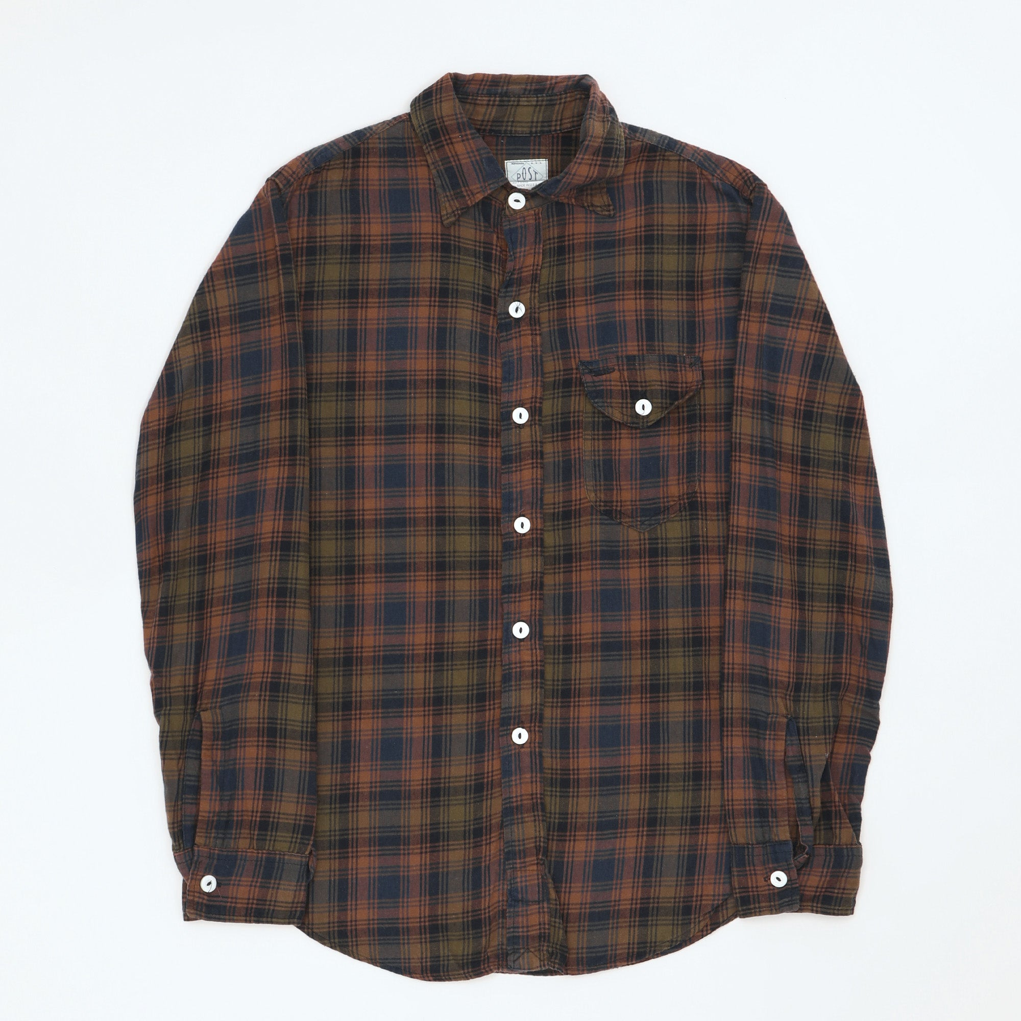 C-Post Flannel Check Shirt