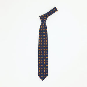 Diamond Print Wool Tie