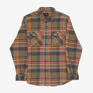 Bowery L/S Crossover Flannel Shirt