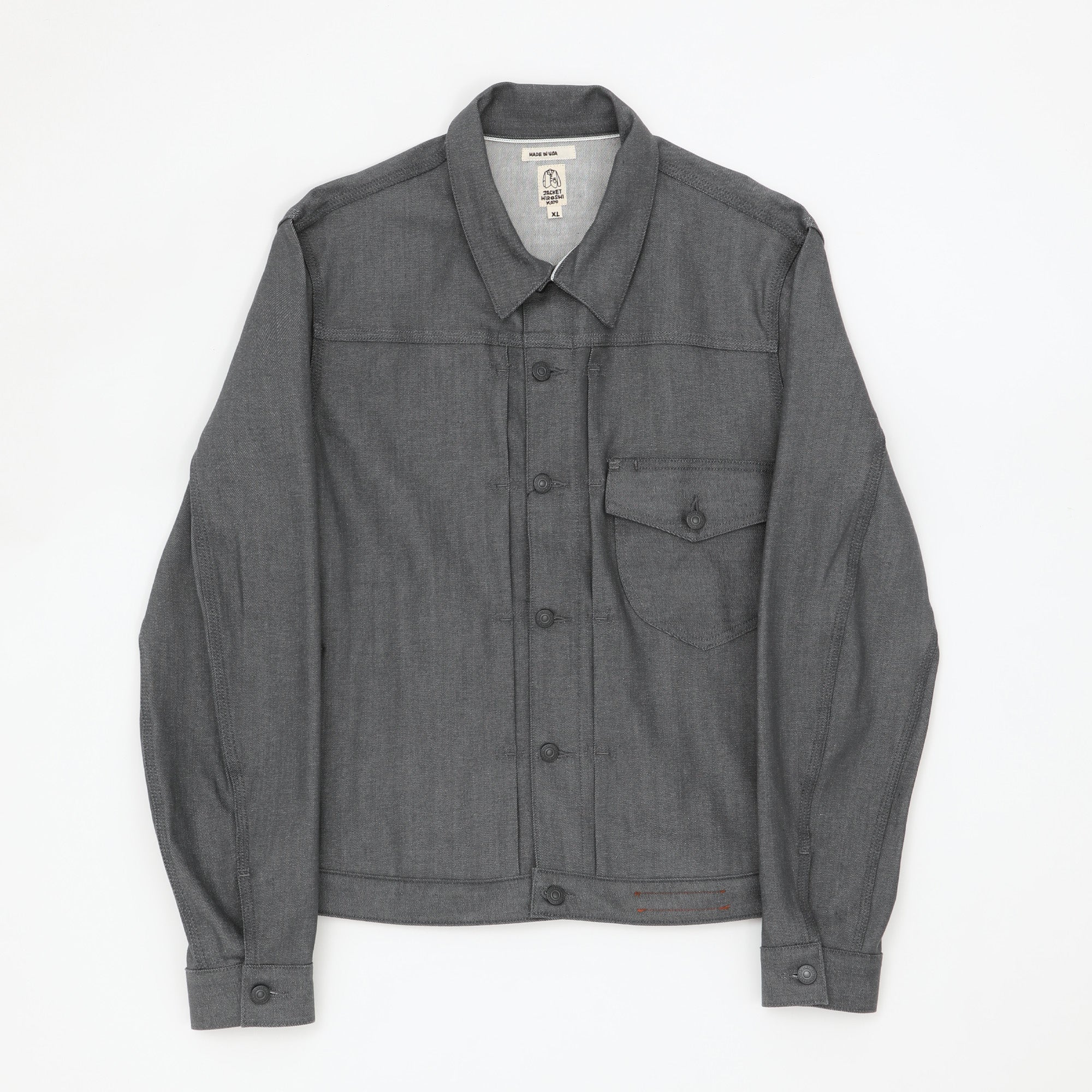 The Blade 10.5oz Selvedge Denim Jacket