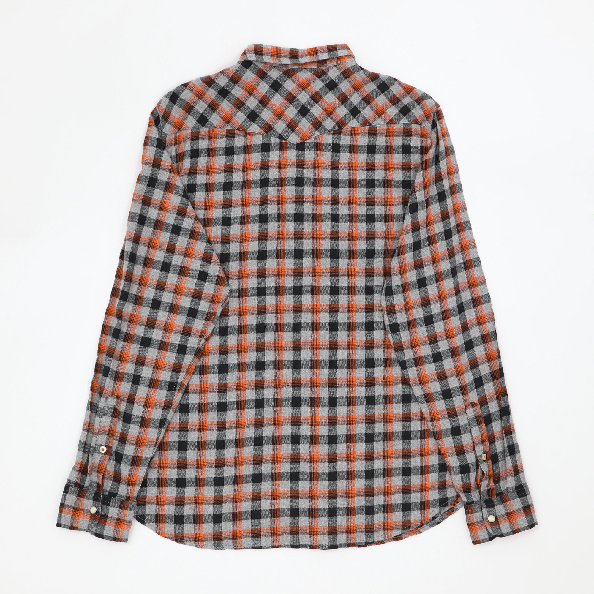 Slim Fit Flannel Western Shirt