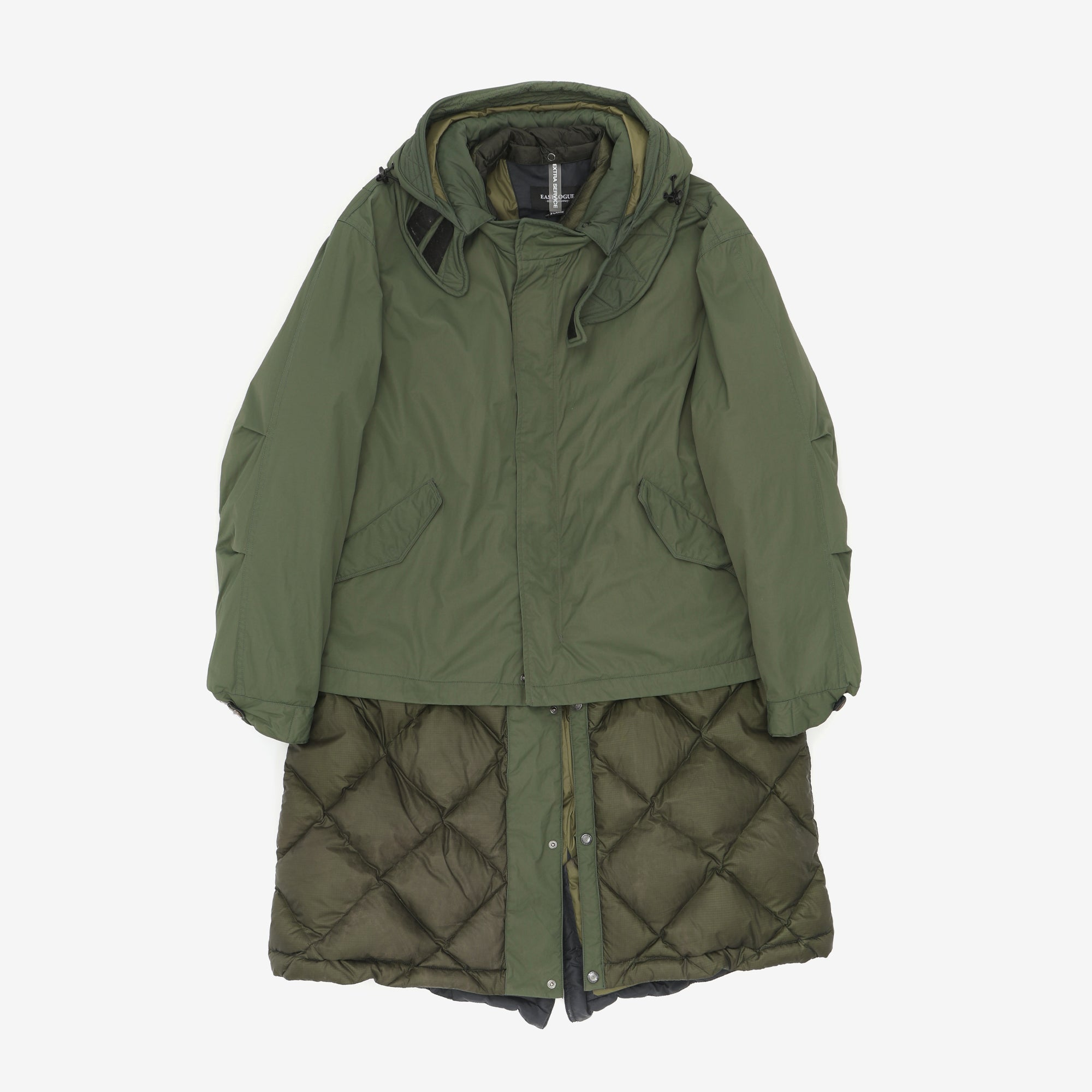 2-Layer Fishtail Down Parka