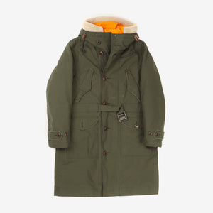 Military Style Parka Inc. Detachable Liner