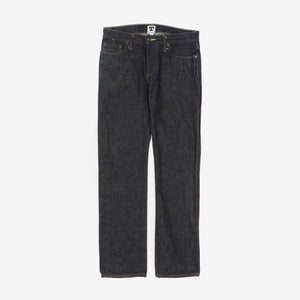 John Graham Mellor Slim Straight Selvedge Denim