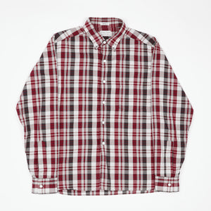 Button Down Madras Shirt