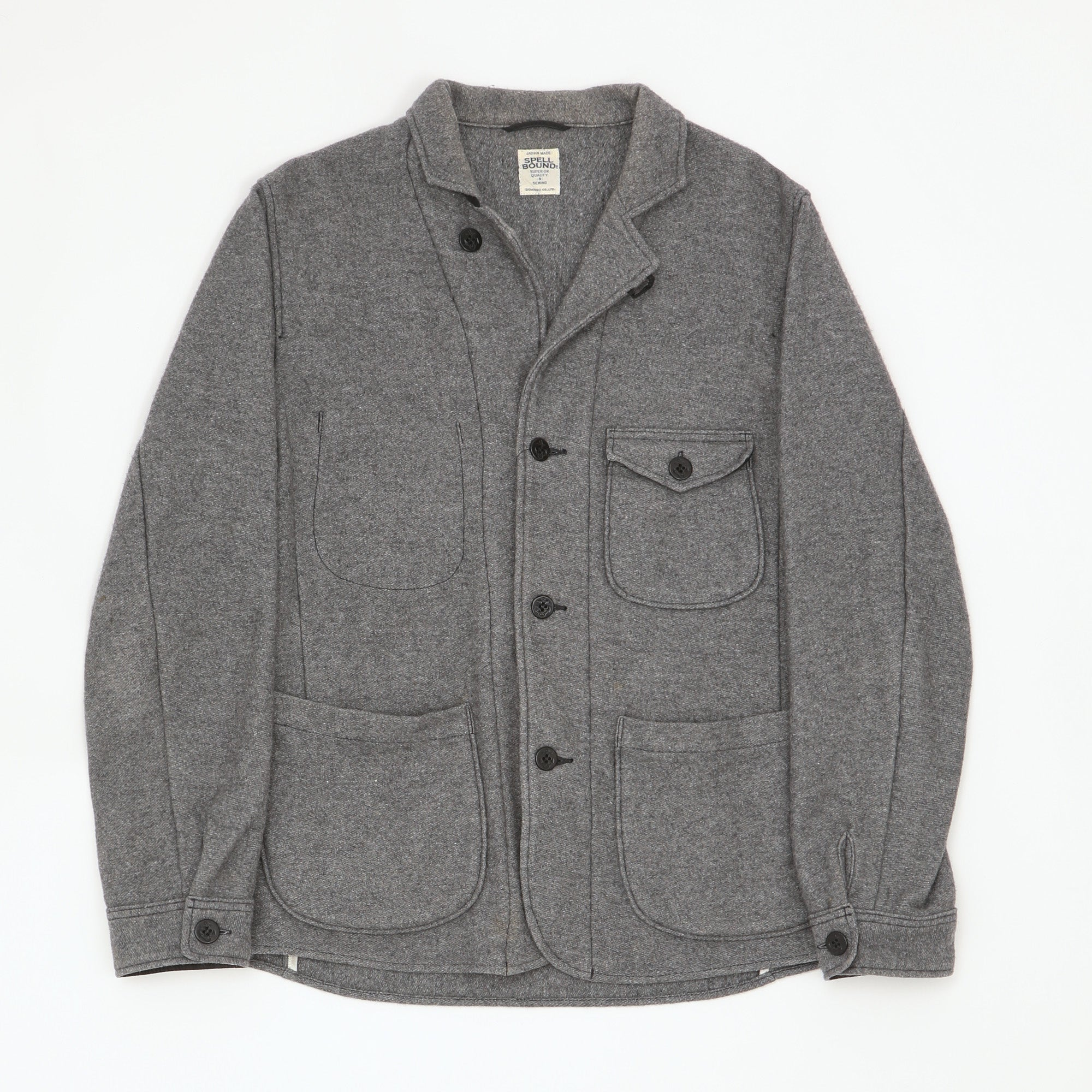 Wool CPO Tailored Shirt Jacket