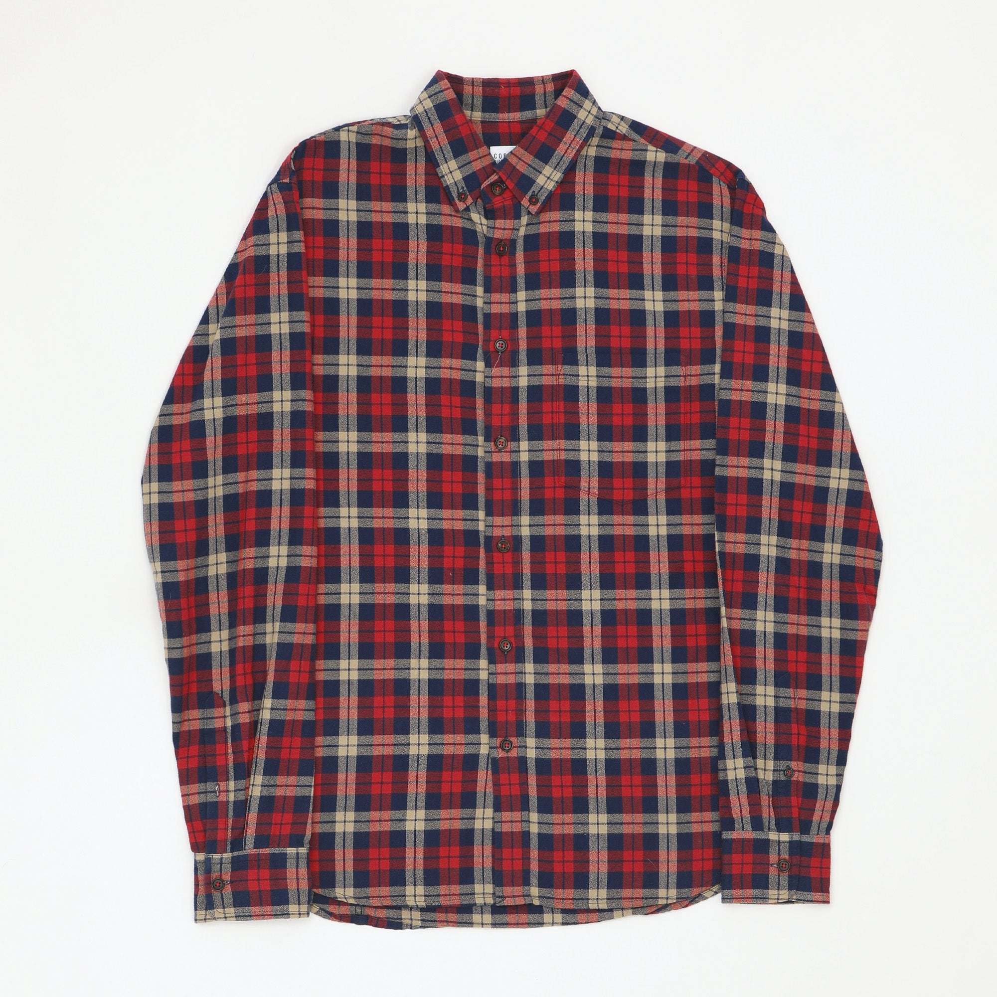 Small Checked Button Down Shirt