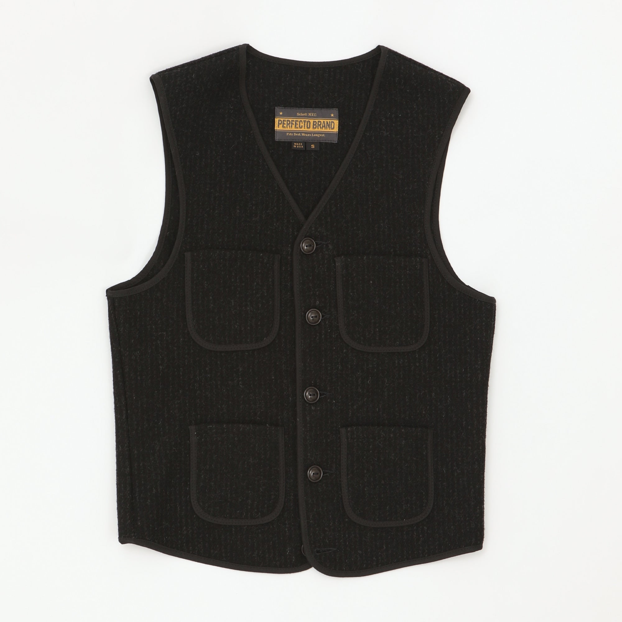 4 Pocket Wool Vest