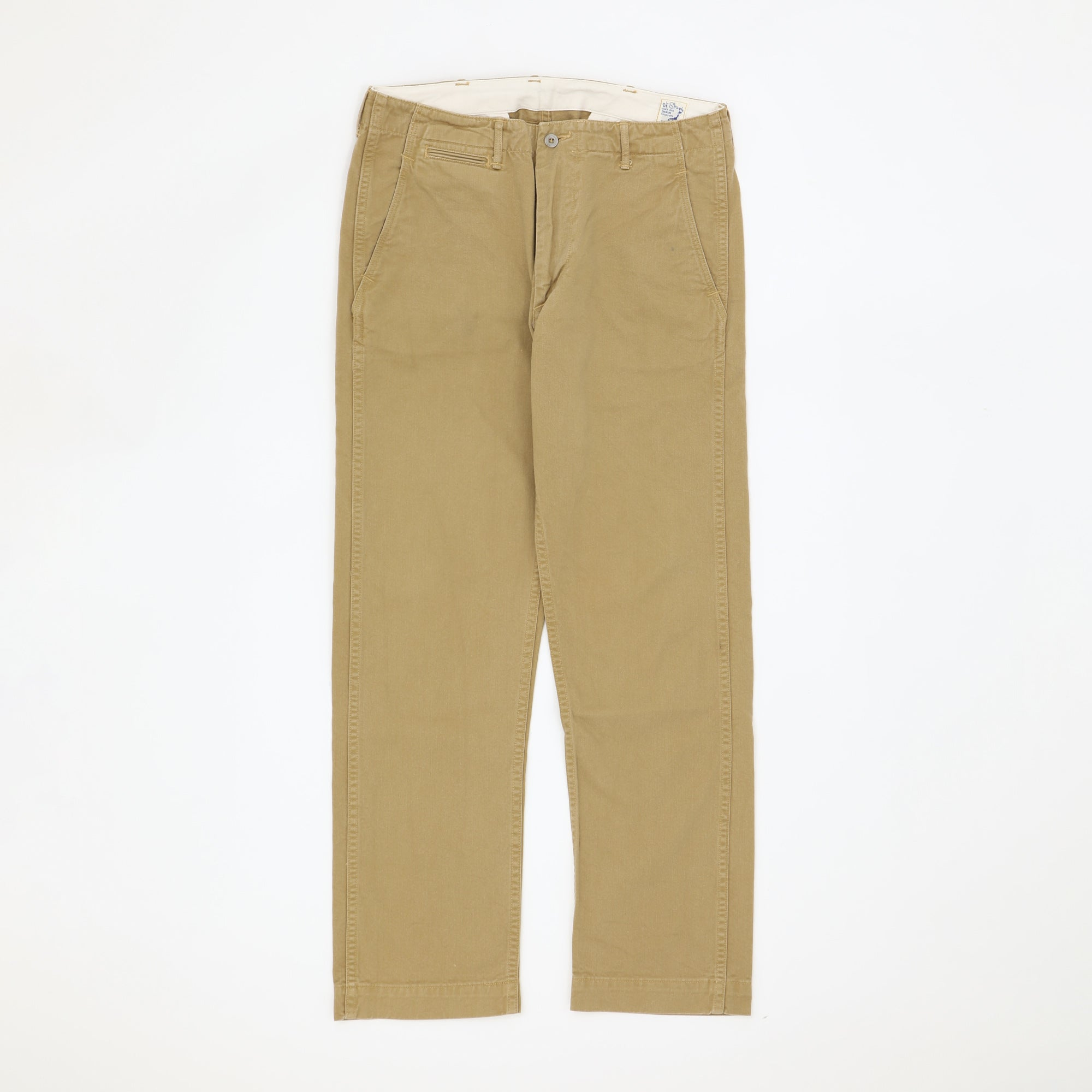 Slim Fit Army Trousers