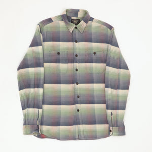 Plaid Flannel Work Shirt