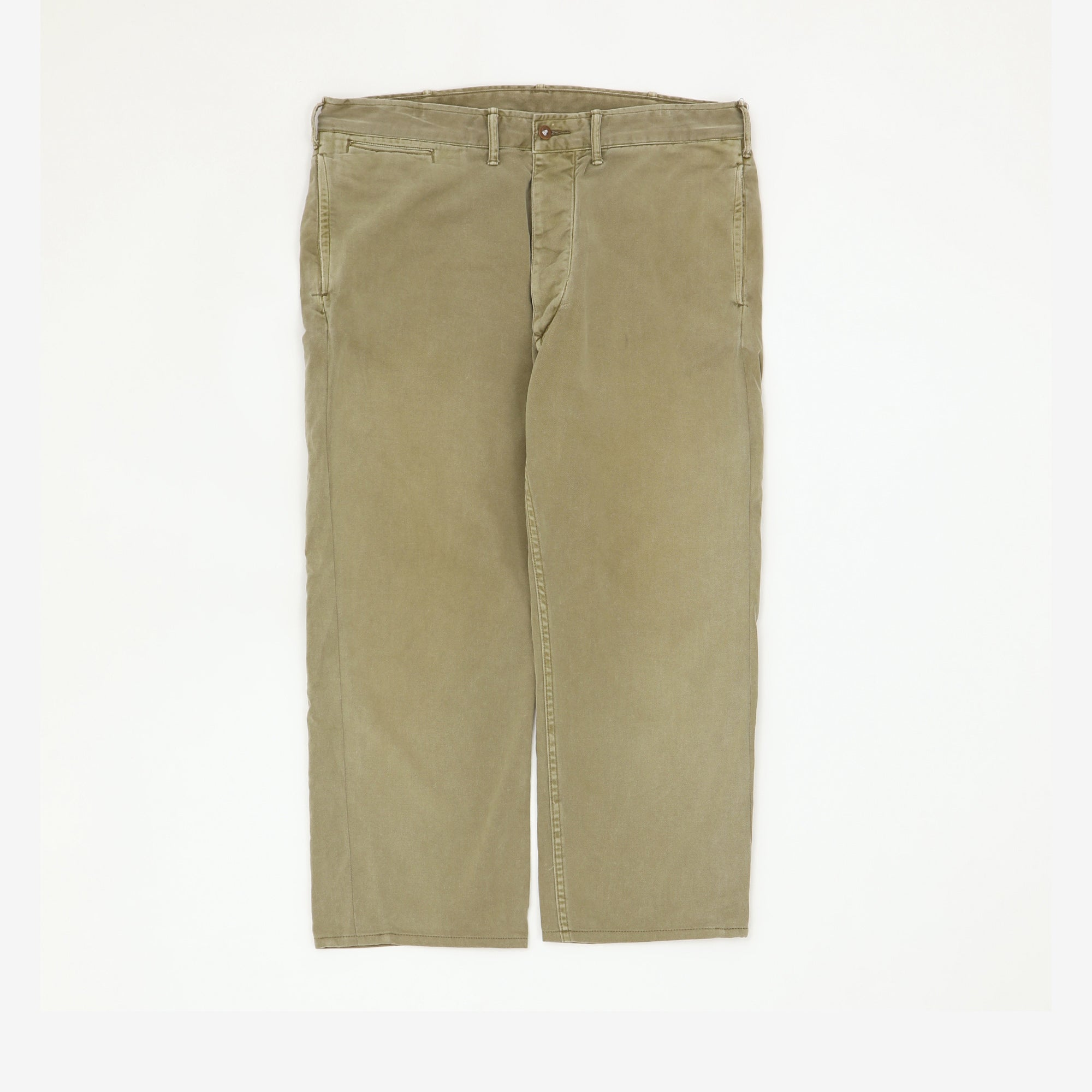 Cotton Twill Officer Chinos