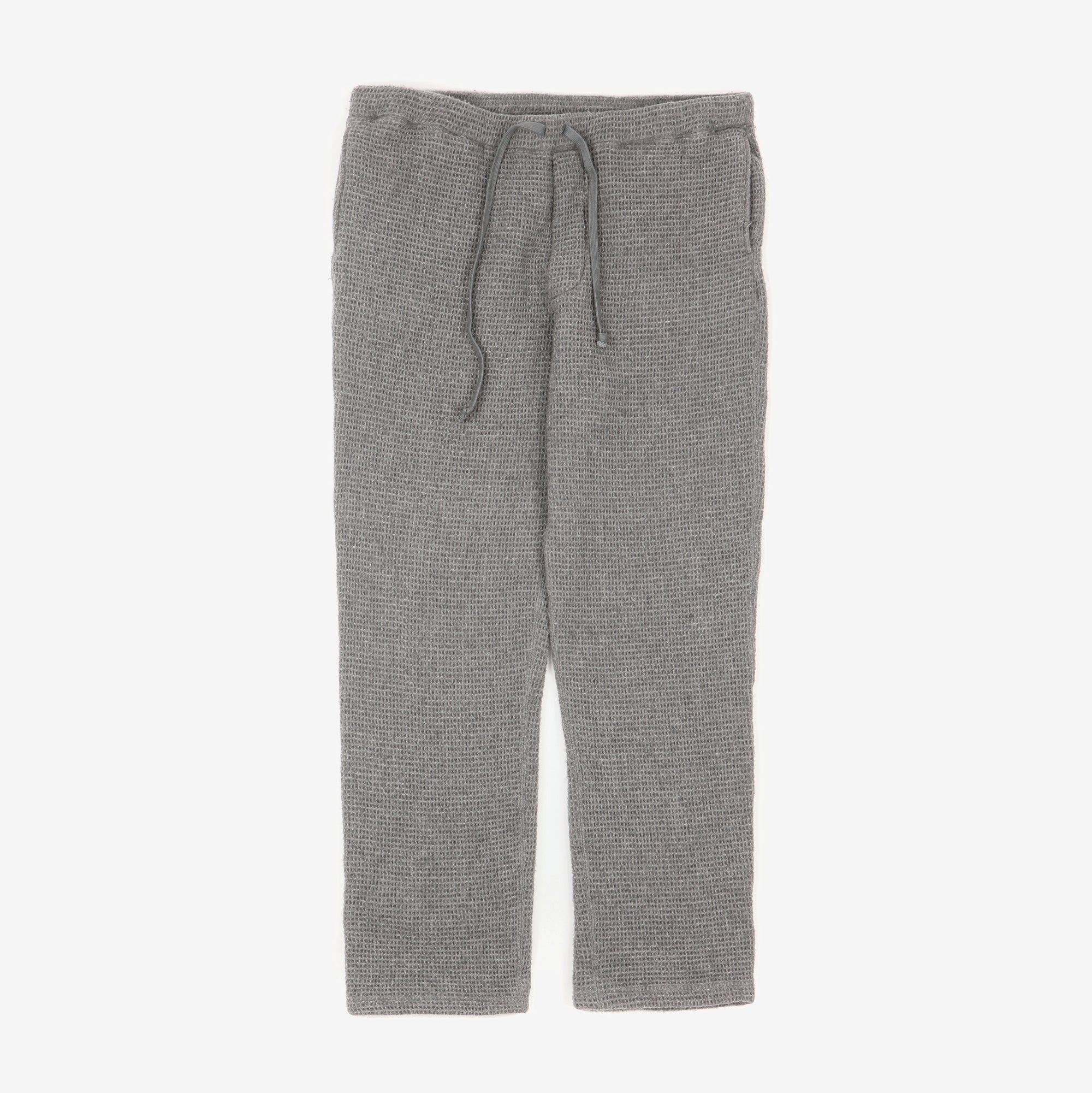 Straight Cut Wool Sweatpants