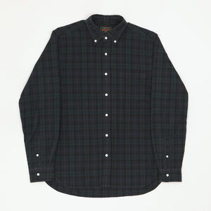 Button Down Tartan Check Shirt