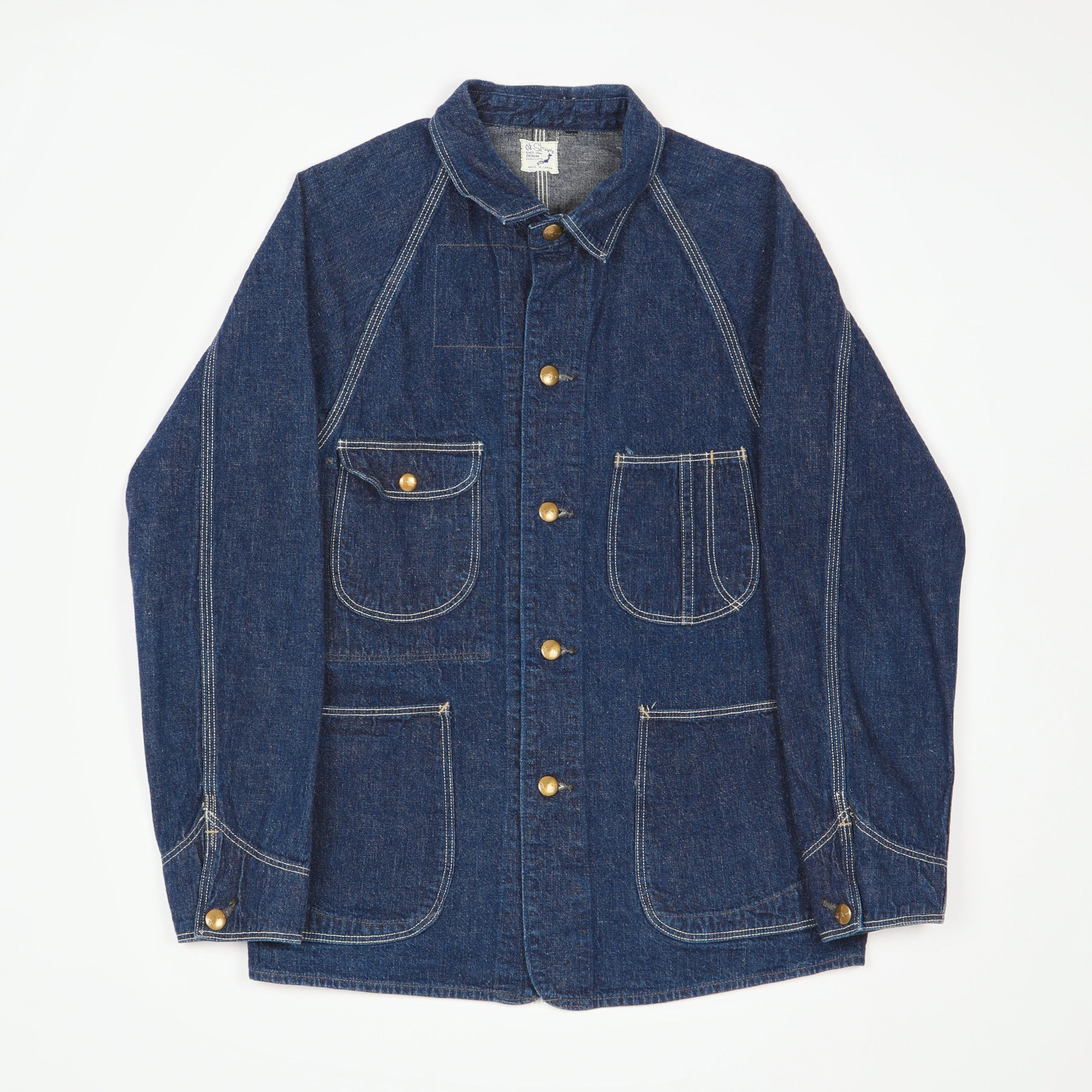 1950s Denim Chore Jacket