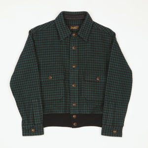 Wool Checked  A-2 Jacket