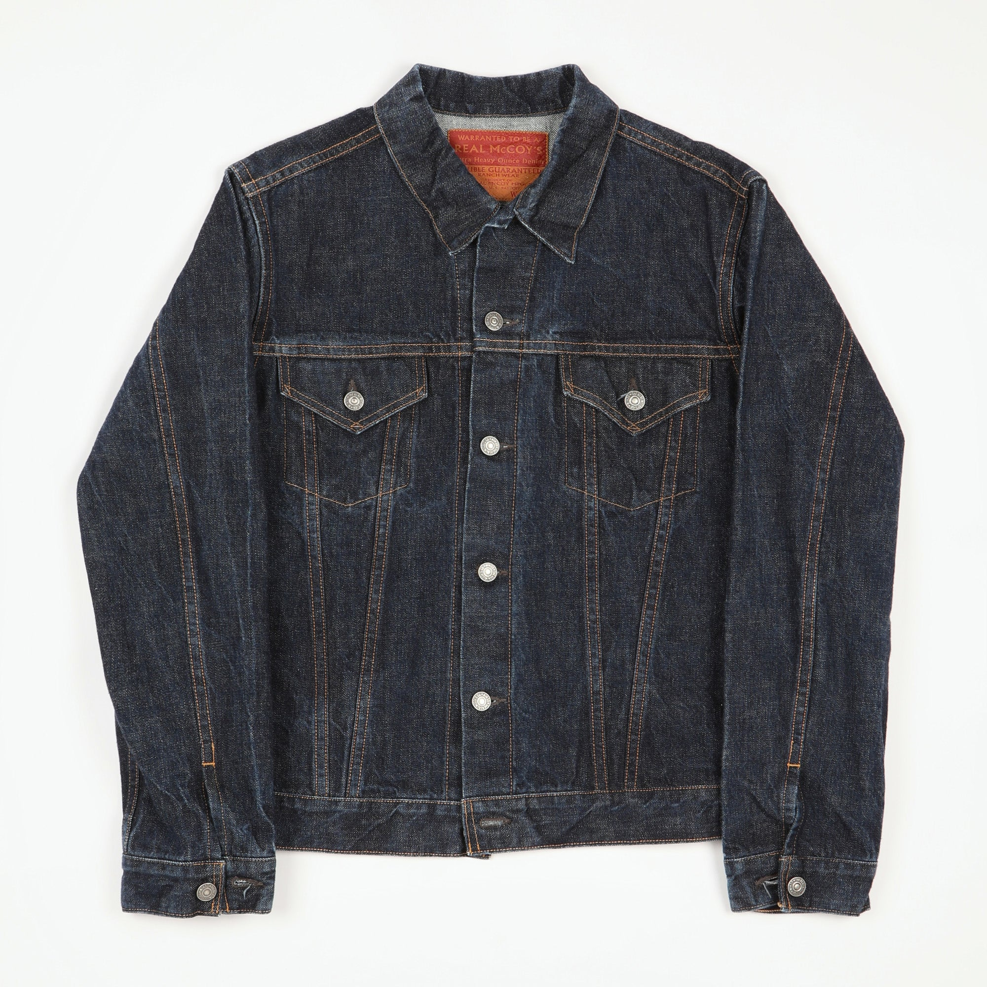 Joe McCoy Lot.004J Denim Jacket
