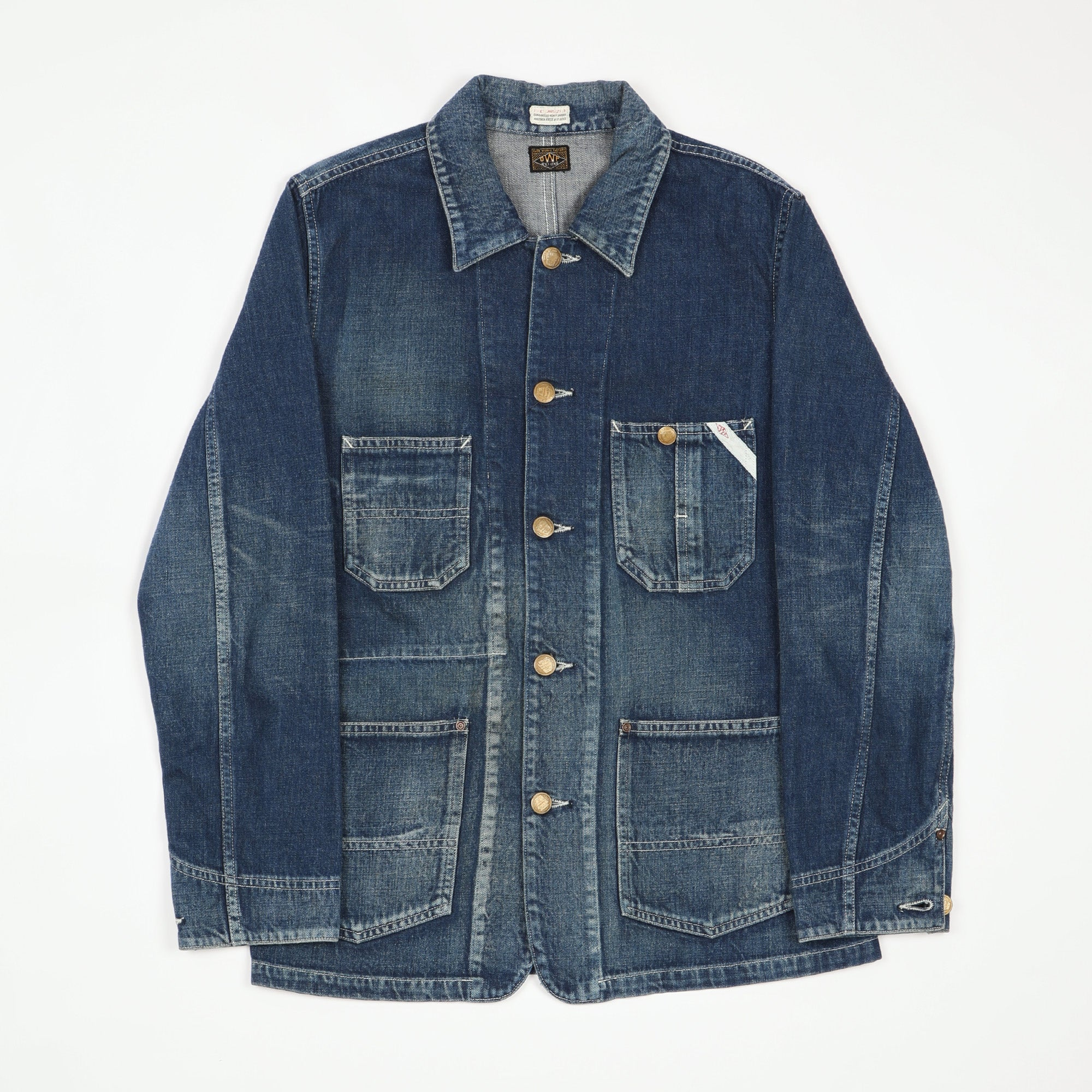 Overworks Denim Coverall Jacket