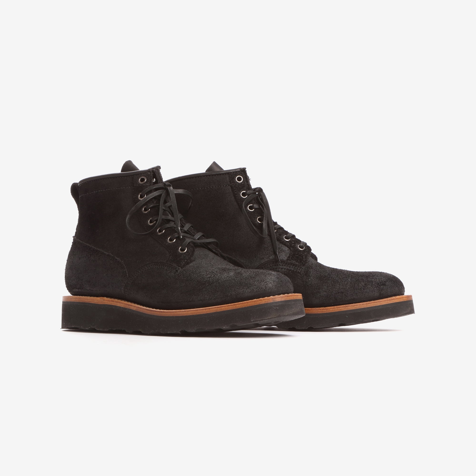 Viberg Boot x Mr Porter Rough Out Scout Boots